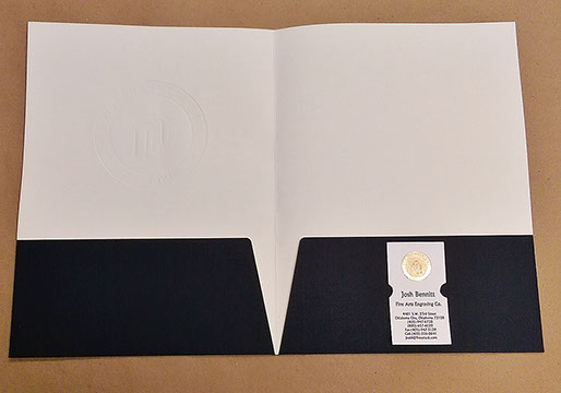 Folders with two business card slots best business 2017 business card slot 6 pack ation folder color service printing graphics colourmoves Gallery